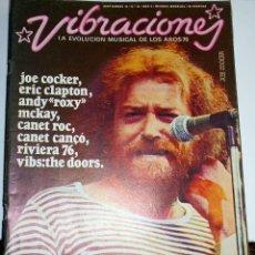 Coleccionismo Papel Varios: REVISTA VIBRACIONES N24 JOE COCKER ROCK ROCKANDROLL. Lote 111411555