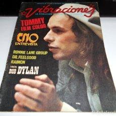 Coleccionismo Papel Varios: REVISTA VIBRACIONES N8 DR.FEELGOOD TOMMY FILM ROCK ROCKANDROLL. Lote 111411847