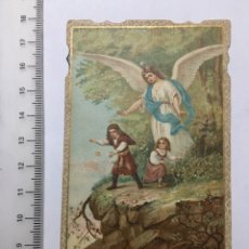 Coleccionismo Papel Varios: ESTAMPA RELIGIOSA. EL ÁNGEL DE LA GUARDA. H. 1920?. Lote 112249623