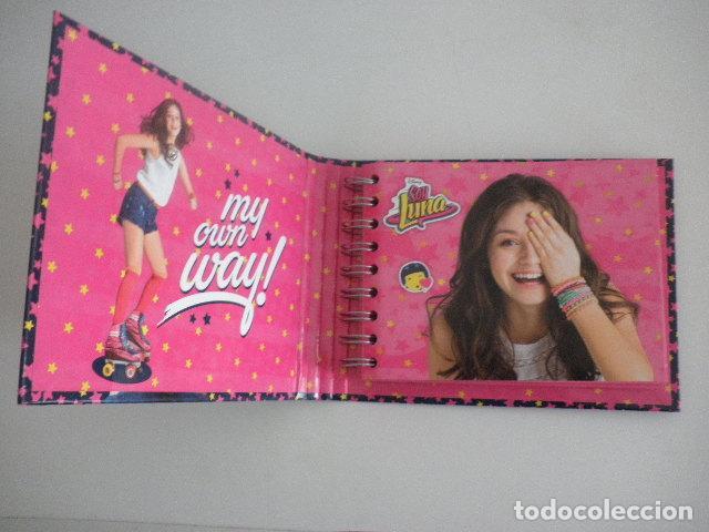 Coleccionismo Papel Varios: Agenda / Libreta / Diario personal de Soy Luna - Disney Channel - Foto 2 - 112797523