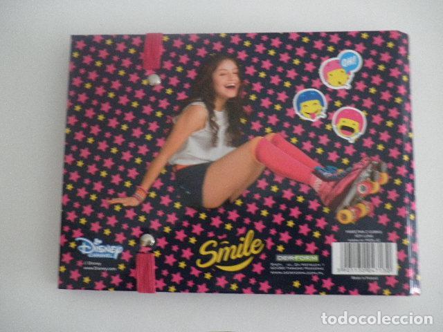 Coleccionismo Papel Varios: Agenda / Libreta / Diario personal de Soy Luna - Disney Channel - Foto 4 - 112797523