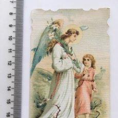 Coleccionismo Papel Varios: ESTAMPA RELIGIOSA. EL ÁNGEL DE LA GUARDA. H. 1915?. Lote 112858352