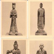 Coleccionismo Papel Varios: ESCULTURA Y PINTURA CHINAS EN EL MUSEO BRITÁNICO. 12 REPRODUCCIONES. Lote 112974059