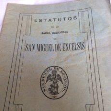 Coleccionismo Papel Varios: ESTATUTOS SAN MIGUEL 1916. Lote 113339906