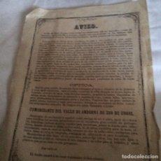 Coleccionismo Papel Varios: AVISO DECOMERCIANTE NUEVO EN PAMPLONA. Lote 113346930