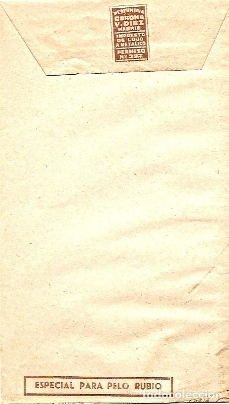 Coleccionismo Papel Varios: SHAMPOOING LAFLÊCHE - SOBRE CONTENEDOR DE POLVOS PARA CHAMPÚ - Foto 2 - 26767618