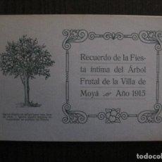 Coleccionismo Papel Varios: MOIA-MOYA-DEDICADO AUTOGRAFIADO FRANCISCO VIÑAS - FIESTA DEL ARBOL- AÑO 1915 -VER FOTOS-(V-13.675). Lote 113854207