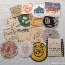 Coleccionismo Papel Varios: MADRID LOTE ANTIGUOS POSAVASOS DISTINTAS MARCAS Y FIRMAS DE LA CIUDAD. Lote 114034147