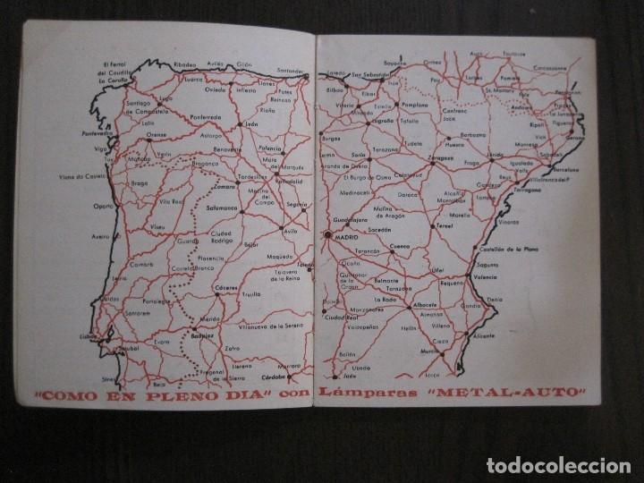 Coleccionismo Papel Varios: GUIA DE CARRETERAS - PUBLICIDAD METAL AUTO -VER FOTOS-(V-13.711) - Foto 4 - 114213539