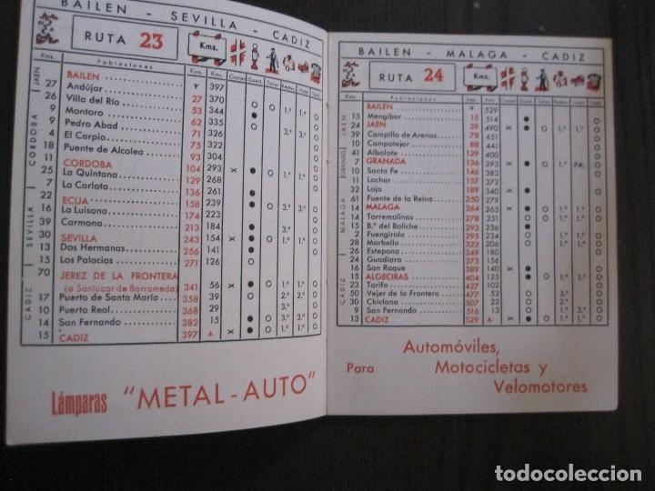Coleccionismo Papel Varios: GUIA DE CARRETERAS - PUBLICIDAD METAL AUTO -VER FOTOS-(V-13.711) - Foto 7 - 114213539