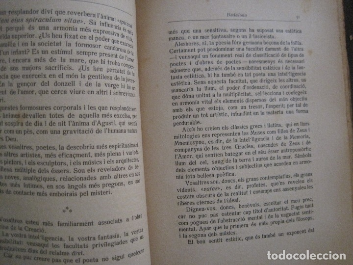 Coleccionismo Papel Varios: BADALONA - JOCS FLORALS ANY 1916 - CIRCOL CATOLIC -VER FOTOS-(V-13.714) - Foto 6 - 114214415