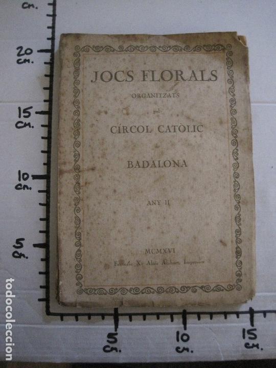 Coleccionismo Papel Varios: BADALONA - JOCS FLORALS ANY 1916 - CIRCOL CATOLIC -VER FOTOS-(V-13.714) - Foto 16 - 114214415