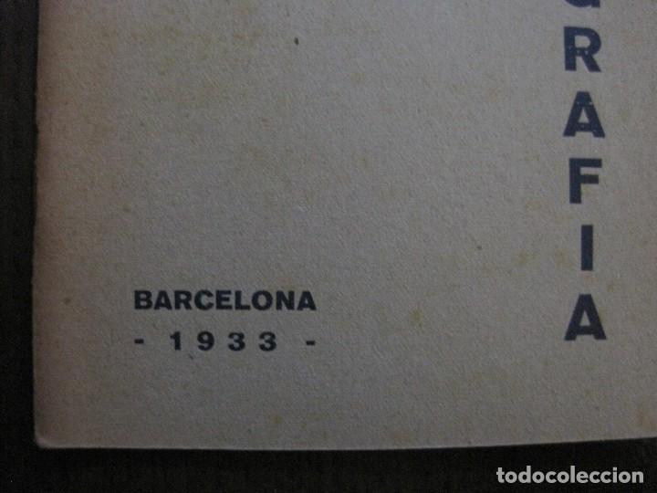 Coleccionismo Papel Varios: BARCELONA- ESTATUTS ACADEMIA DE TAQUIGRAFIA - ANY 1933 -VER FOTOS-(V-13.717) - Foto 2 - 114275587
