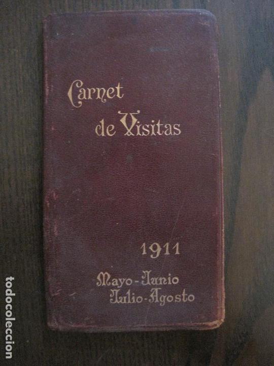 CARNET DE VISITAS - CARNET LEFRANCQ -AÑO 1911 -VER FOTOS-(V-13.722) (Coleccionismo en Papel - Varios)
