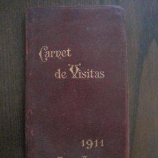 Coleccionismo Papel Varios: CARNET DE VISITAS - CARNET LEFRANCQ -AÑO 1911 -VER FOTOS-(V-13.722). Lote 114278687
