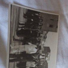 Coleccionismo Papel Varios: FOTO FALANJISTAS EN PUEBLO. Lote 114376288