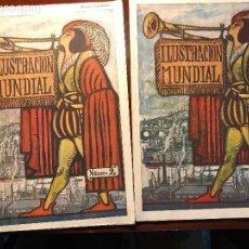 Coleccionismo Papel Varios: ILUSTRACIÒN MUNDIAL. Lote 114575351