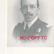 Coleccionismo Papel Varios: RECORDATORIO XVIII ANIVERSARIO DE LA MUERTE DE ALFONSO XIII 1941. Lote 114587279
