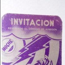 Coleccionismo Papel Varios: ENTRADA DISCOTECA - IL PARADISO- SAN JUAN DE ALICANTE . Lote 114844483