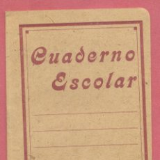 Coleccionismo Papel Varios: ANTIGUO CUADERNO ESCOLAR, SIN USO, MARCA EL OSO BLANCO, RAYADO, VER FOTOS. Lote 115296351