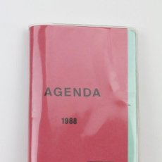 Coleccionismo Papel Varios: AGENDA - UGT / FEDERACIÓN TRANSPORTES Y TELECOMUNICACIONES DE CATALUÑA - AÑO 1988. Lote 115448079