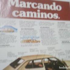 Coleccionismo Papel Varios: RECORTE PUBLICIDAD AÑOS 60 - COCHE SEAT 127. Lote 115532435
