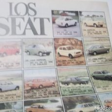 Coleccionismo Papel Varios: RECORTE PUBLICIDAD AÑOS 60 - COCHES SEAT . Lote 115532591