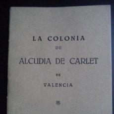 Sammelleidenschaft Andere Papierartikel - LA COLONIA DE ALCUDIA DE CARLET EN VALENCIA - 131151343