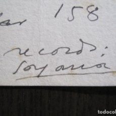 Coleccionismo Papel Varios: JOSEP MARIA DE SAGARRA - AUTOGRAFO FIRMA- CARTA -VER FOTOS-(V-14.063). Lote 116476519