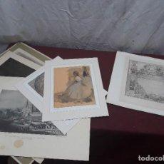 Coleccionismo Papel Varios: FOTOGRABADO.. ILUSTRACIONES DEGAS..GRABADO..FOTO.... Lote 116544027