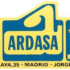 Coleccionismo Papel Varios: ADESIVO - PEGATINA - ARDASA - CITROËN / PEUGEOT . MADRID. Lote 116706919