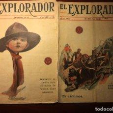 Coleccionismo Papel Varios: LOTE REVISTAS EL EXPLORADOR-1920. Lote 116890735