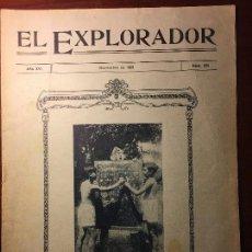 Coleccionismo Papel Varios: REVISTA EL EXPLORADOR-1928. Lote 116890567