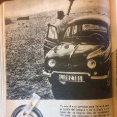 Coleccionismo Papel Varios: PUBLICIDAD NEUMÁTICOS FIRESTONE DE 1962 RENAULT. Lote 117715426