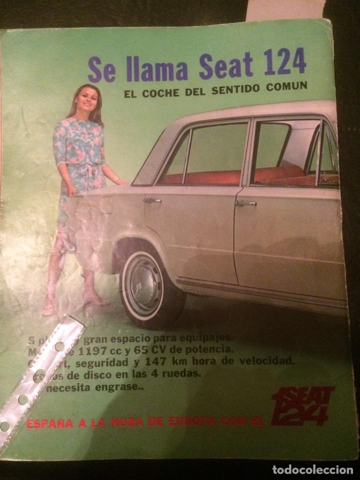 PUBLICIDAD AUTOMÓVIL SEAT 124 DE 1968 (Coleccionismo en Papel - Varios)