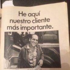 Coleccionismo Papel Varios: PUBLICIDAD CAMIÓN BARREIROS DE 1967. Lote 118399418