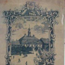 Coleccionismo Papel Varios: INTER FOLIA FRUCTIUS THEODOR VON ENGELMANN 1899 - PORTAL DEL COL·LECCIONISTA *****. Lote 118442335