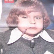 Coleccionismo Papel Varios: POSTER AÑOS 70 - JOSE MARIA LOPEZ PASCUAL (EL CANTANTE DE MARCO ). Lote 118757063