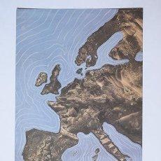 Coleccionismo Papel Varios: TARJETÓN ÓSCAR DOMÍNGUEZ - DECALCOMANÍAS – GALERÍA GUILLERMO DE OSMA, MADRID, 2006 – 20 X 13,5 CM. Lote 118944795