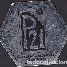 Coleccionismo Papel Varios: POSAVASOS CLUB PUB DISCOTECA P21 PALENCIA . Lote 119074927
