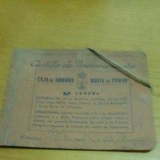 Coleccionismo Papel Varios: CARTILLA DE RACIONAMIENTO, CARPETA. Lote 119274627