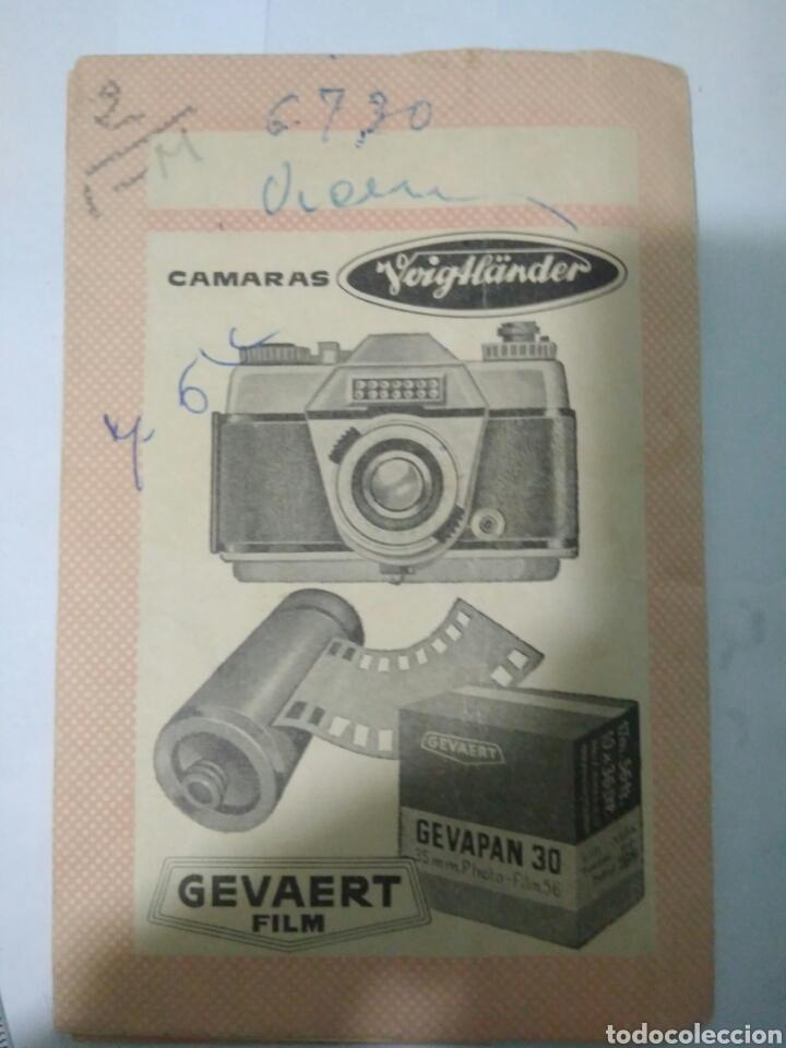 Coleccionismo Papel Varios: TALLERES GUIAMO SEVILLA PUBLICIDAD GEVAERT GUARDA FOTO - Foto 4 - 119484847