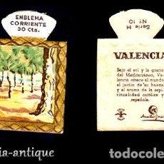 Coleccionismo Papel Varios: EMBLEMA AUXILIO SOCIAL - SER.M 10 - VALENCIA SOLICITE SUS FALTAS Y LOS PONDREMOS A LA VENTA. Lote 120058979