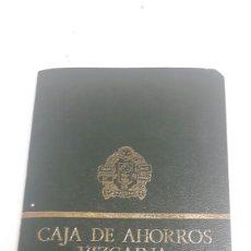 Coleccionismo Papel Varios: LIBRETA CAJA AHORROS VIZCAINA 1977 ENVIO INCLUIDO. Lote 120217942