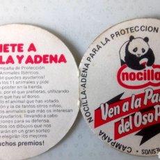 Coleccionismo Papel Varios: CUPÓN DE VOTO NOCILLA. VEN A LA PANDILLA DEL OSO PANDA.. Lote 120524260