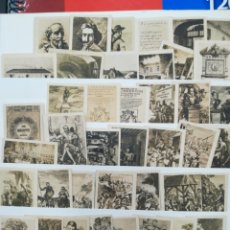 Coleccionismo Papel Varios: COLECCIÓN DE 1000 FOTOTIPIA SERIES:N1, 3,4,5,10,11,14,16,17,19,20,21,22,24,25,26 CERVANTES Y REINAS. Lote 120557390