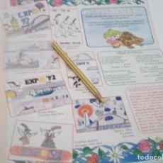 Coleccionismo Papel Varios: RECORTE PUBLICIDAD AÑOS 80/90 - EXPO-92 SEVILLA . Lote 120585135