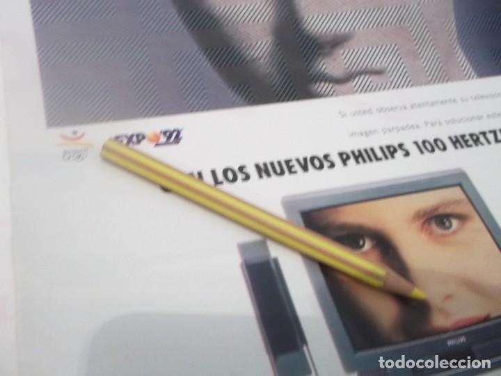 Coleccionismo Papel Varios: RECORTE PUBLICIDAD AÑOS 80/90 - EXPO-92 SEVILLA - Foto 2 - 120585211