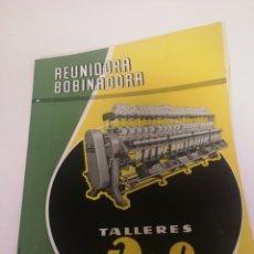 Coleccionismo Papel Varios: PUBLICIDAD TALLERES ROF AÑOS 60. Lote 120825634