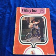 Coleccionismo Papel Varios: VIDA Y LUZ , REVISTA JUVENIL.NÚMERO60 JUNIO 1972. Lote 120961751